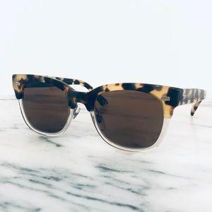 NWOT Authentic Gucci Tortoise Sunglasses & Case